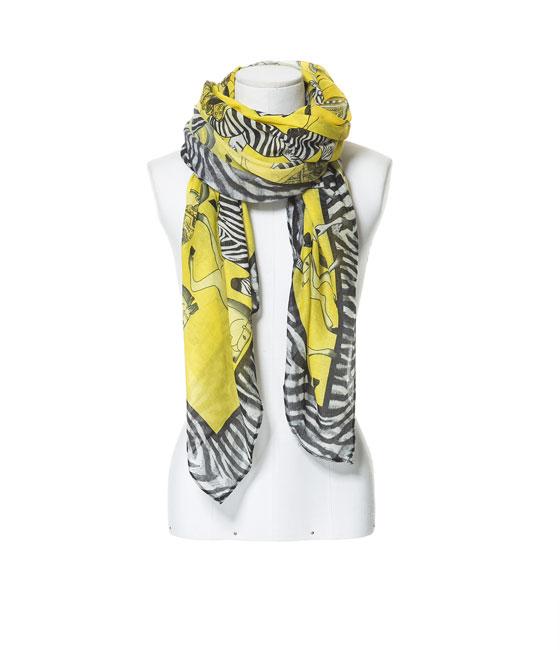 Fular Cebra de Zara - 15'95€