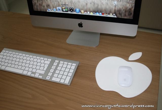 Alfombrilla para mouse Mac iMac