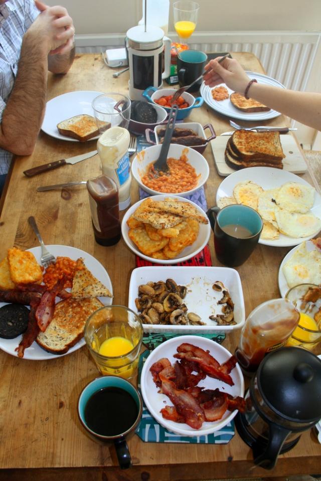 Tipico desayuno Ingles