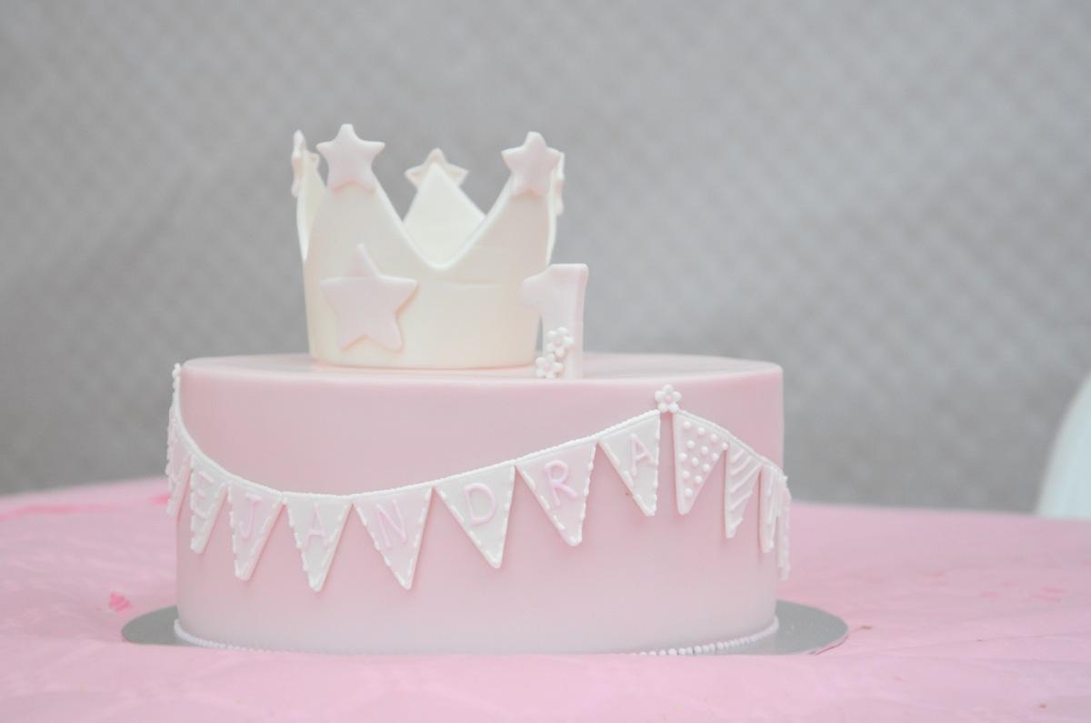 Primer cumpleaños de una princesa: LA TARTA